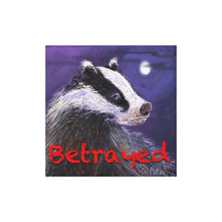 Canvas Print - Never Forget the Badger Cull