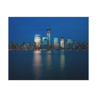 Canvas print: New York City Night Skyline