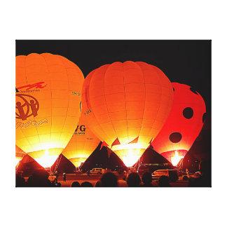 Canvas Print - Night Balloons