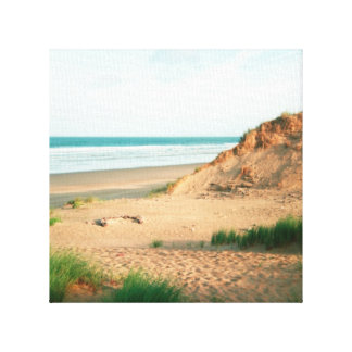 Canvas print of Rhossili Beach, Gower