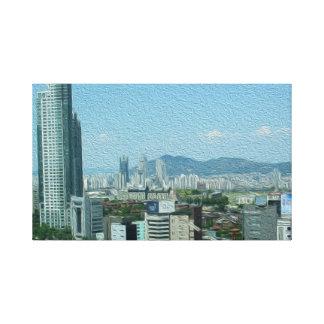 Canvas Print - Seoul