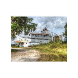 Canvas Print - Sugar Cane Mill