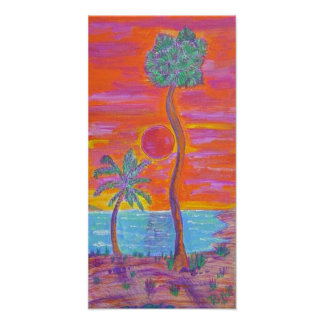 Canvas Print -Tropical Breeze