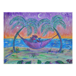 Canvas Print - Tropical Martini