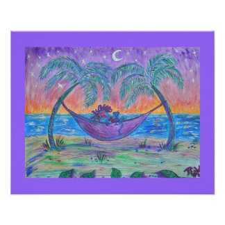 Canvas Print- Tropical Martini
