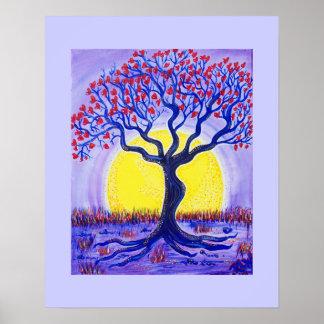Canvas Print- Whole Lotta Love Tree Poster