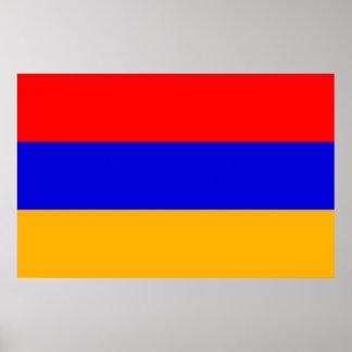 Canvas Print with Flag of Armenia