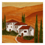 Canvas printing canvas Canvas print Toscana