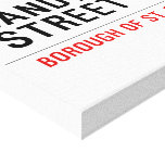Sandwich Street  Canvas Prints