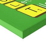 Game Letter Tiles  Canvas Prints