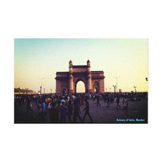 Canvas Prints gateway of India Mumbai India