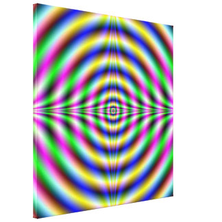 Canvas   Psychedelic Neon Eye