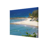 Canvas Rainbow Bay & Snapper Rocks Queensland 2 Stretched Canvas Print