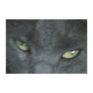 Canvas Russian Blue - Digital Big Cat Gallery Wrapped Canvas