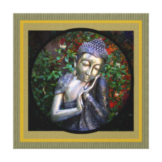 canvas | Silver Buddha Photo Collage