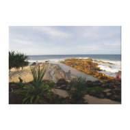 Canvas Snapper Rocks Queensland Australia Canvas Prints