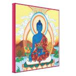 CANVAS SQUARE - Medicine Buddha - Healing Master