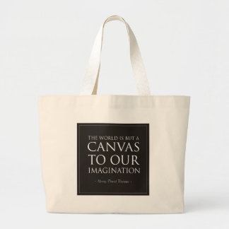 Canvas To Our Imagination Tote Bags