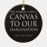 Canvas To Our Imagination Christmas Ornament