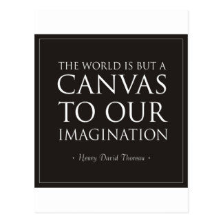 Canvas To Our Imagination Post Card