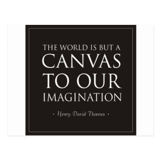 Canvas To Our Imagination Post Cards