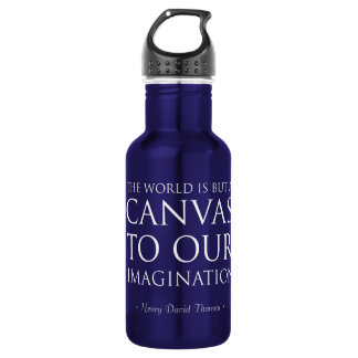 Canvas To Our Imagination Stainless Steel Water Bottle