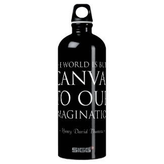 Canvas To Our Imagination Water Bottle
