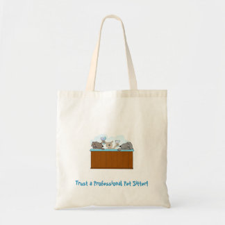 Canvas Tote Bag Trust A Professional Hot Tub Dogs