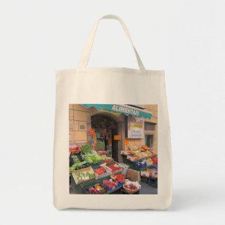 Canvas Tote--Italian Market Tote Bag