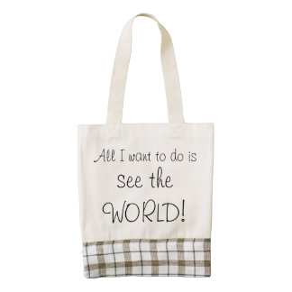 Canvas Tote - See the World