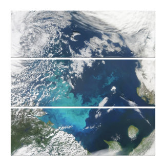 Canvas Triptych Earth Art Barents Sea Canvas Print