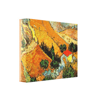 CANVAS VAN GOGH- THE LANDSCAPE-- MODIFIED
