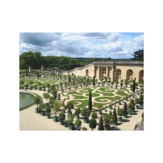 Canvas Versailles France Orangerie Photo Gardens