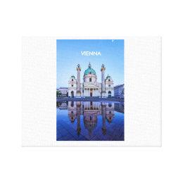 Canvas with Vienna