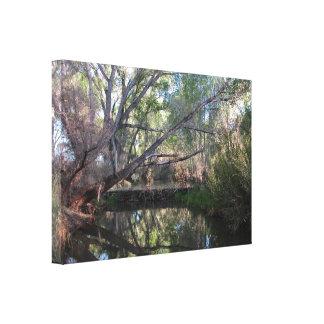 Canvas Wrap: Beaver Dam Canvas Prints