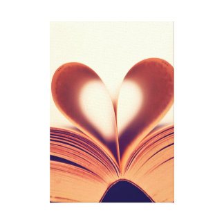 Canvas Wrap ..Book Lovers