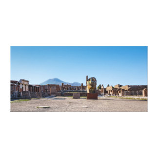 Canvas Wrap - Roman Forum - Ancient Pompeii, Italy