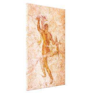 Canvas Wrap - Roman Fresco, Ancient Pompeii, Italy