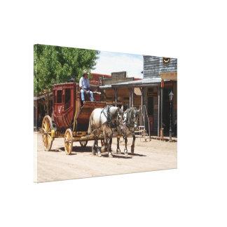 Canvas Wrap: Stagecoach Ride #2