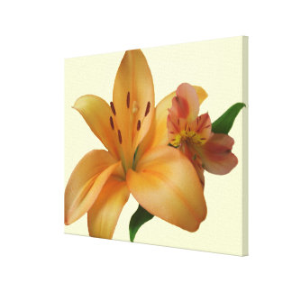 Canvas - Wrapped - Lily & Friend (Left-Facing)