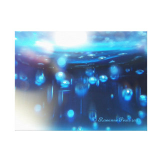 CanvasArt-BlueBubbles.© Roseanne Pears 2012. Canvas Print