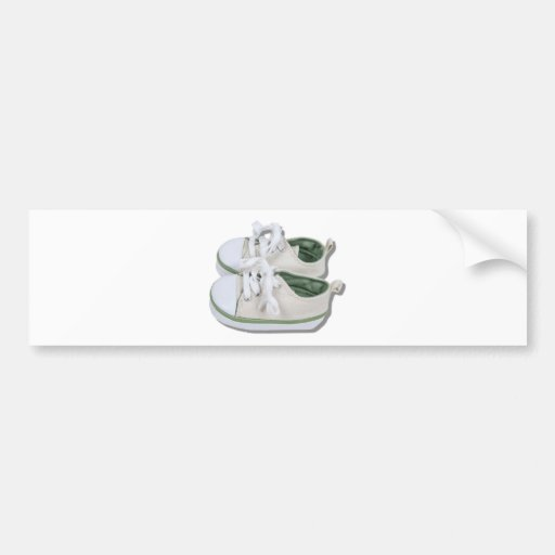 CanvasBabyShoes101610 Bumper Sticker