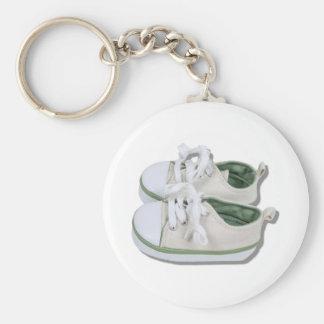 CanvasBabyShoes101610 Keychain