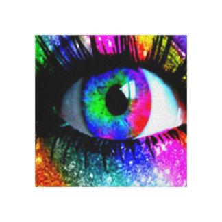 Canvus de ojo mágico impresión en lienzo