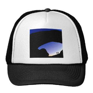 Canyon Arches At Twilight Utah Hats