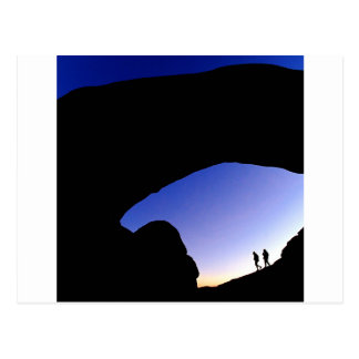 Canyon Arches At Twilight Utah Postcard