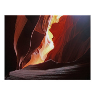 Canyon Art Poster