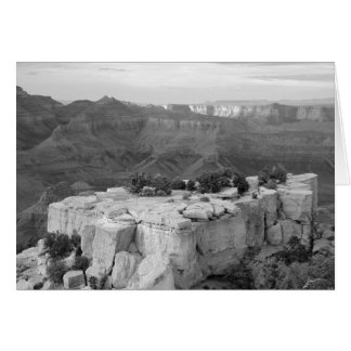 Canyon Black and White Photo Note Card
