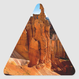 Canyon Bryce Park Utah Triangle Sticker