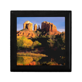 Canyon Cathedral Rock Sedona Jewelry Boxes
